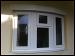 White uPVC bay window and sill?