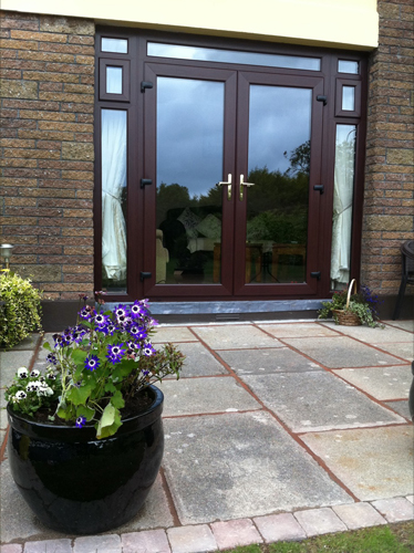 Rosewood French doors?