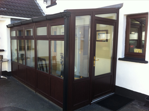 Rosewood uPVC lean-to conservatory?