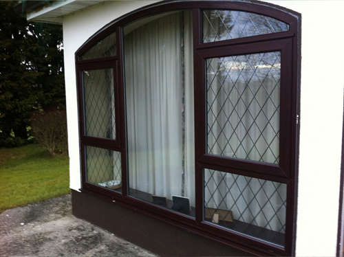 Rosewood uPVC Lean-to Porch