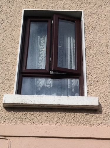 Rosewood French Window